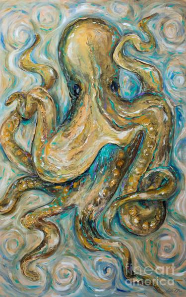 Octopus Tango Art Print