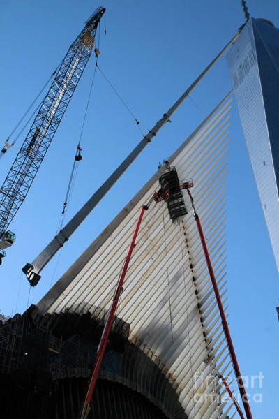Photograph - Oculus Construction At The New Wtc Site At Ground Zero by Steven Spak