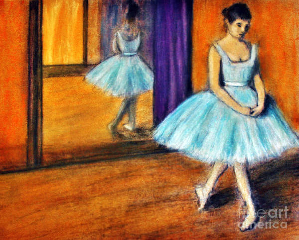 Drawing - Ode To Degas by Michael Cross