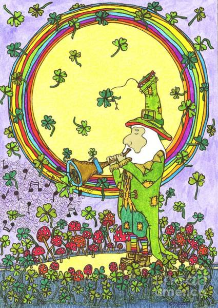 Lucky Clover Painting - Ode To Ireland by Maggie Pringle