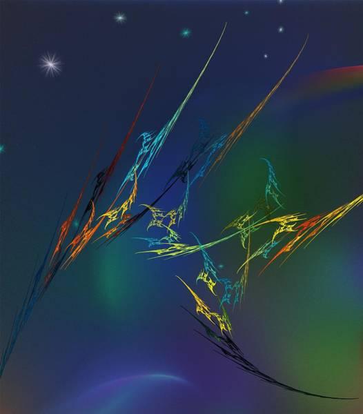 Wall Art - Digital Art - Ode To Joy by David Lane