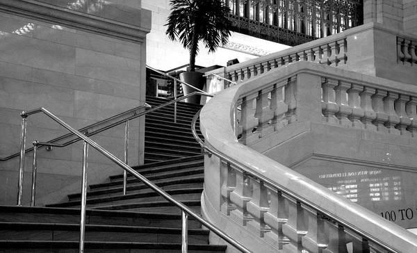 La Libertad Photograph - Odessa Stairway by Gilberto Gutierrez