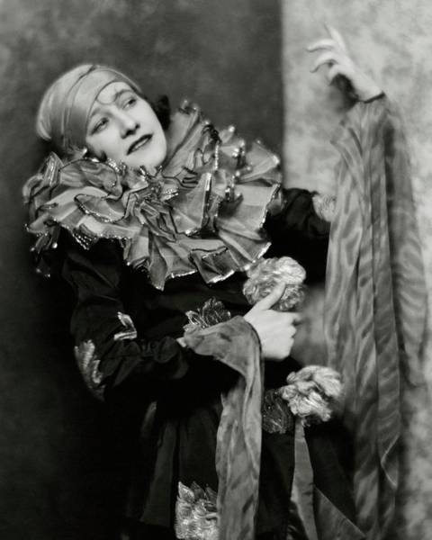 Photograph - Odette Myrtil In Costume by Nickolas Muray
