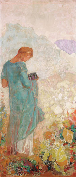 Wall Art - Painting - Odilon Redon, Pandora, French, 1840 - 1916 by Quint Lox