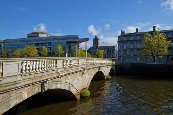 River Liffey Wall Art - Photograph - Odonovan Rossa Bridge 1813 by Panoramic Images