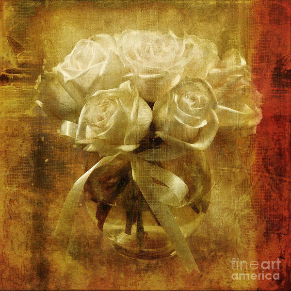 Photograph - Of Roses And Lace by Lois Bryan