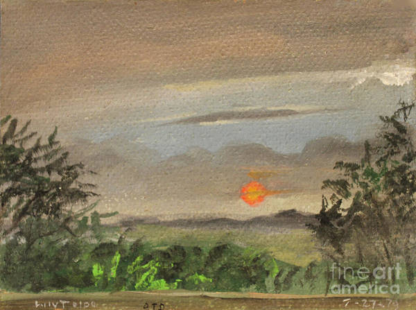 Painting - Off The Deck Sunset by Art By Tolpo Collection