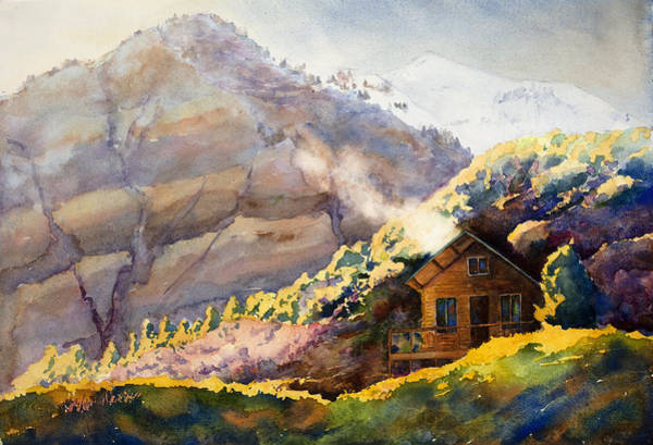 Wall Art - Painting - Off The Grid by Mary Giacomini