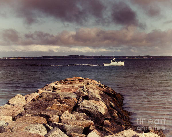 Photograph - Off The New England Coast by Mark Miller