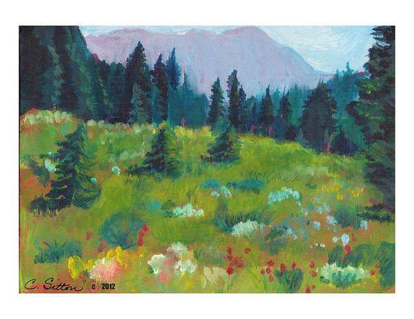 Painting - Off The Trail by C Sitton