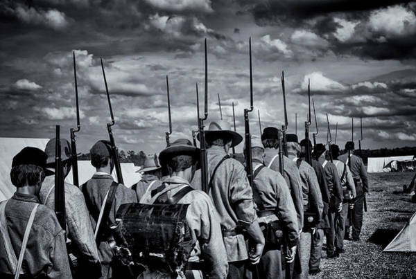 Photograph - Off To Battle by Ghostwinds Photography