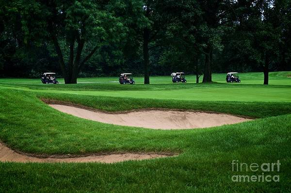 Photograph - Off To Golf We Go by Frank J Casella