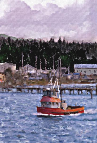 Charleston Digital Art - Off To Sea by Dale Stillman