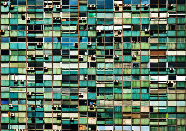 Montevideo Photograph - Office Building Details by Jess Kraft