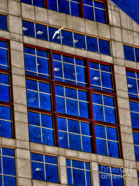 Photograph - Office Building by Jeff Breiman