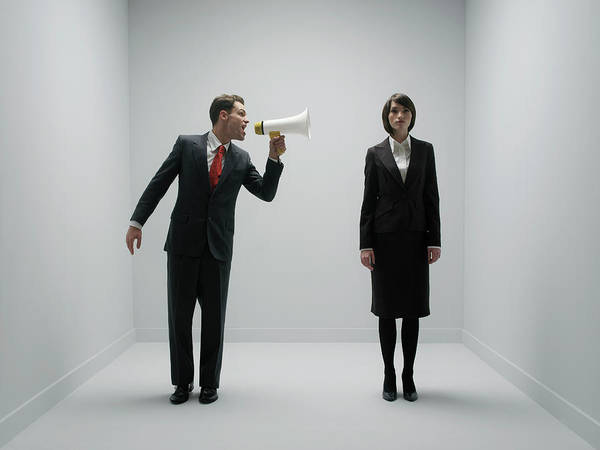Office Manager Wall Art - Photograph - Office Bullying by Howard George/science Photo Library