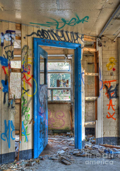 Photograph - Office Closed by David Birchall