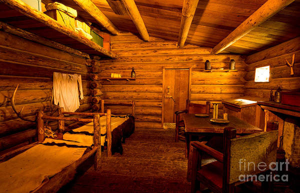 Wall Art - Photograph - Officers Quarters Fort Clatsop - Lewis And Clark by Gary Whitton