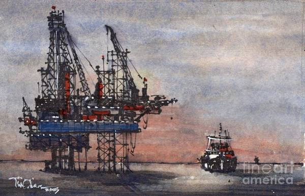 Offshore Wall Art - Painting - Offshore by Tim Oliver
