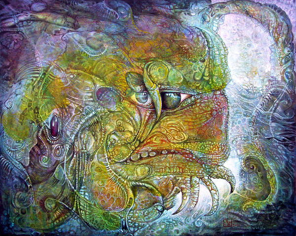Offspring Of Tiamat - The Fomorii Union Art Print