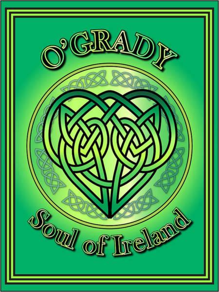 Wall Art - Digital Art - O'grady Soul Of Ireland by Ireland Calling