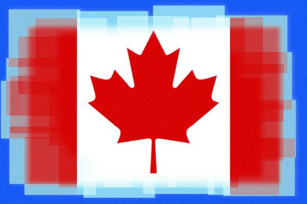 Digital Art - Oh Canada by Bill Cannon