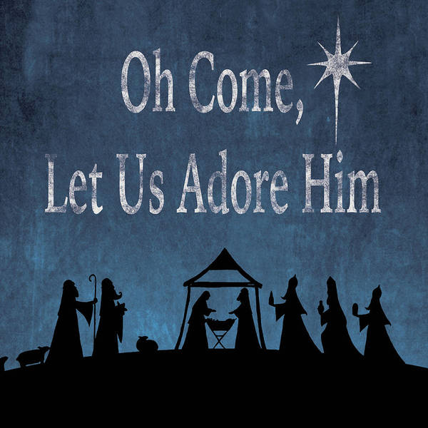 Bethlehem Wall Art - Painting - Oh Come by P.s. Art Studios