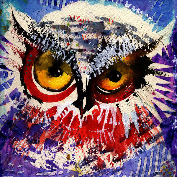 Painting - Oh Hush by Laurel Bahe