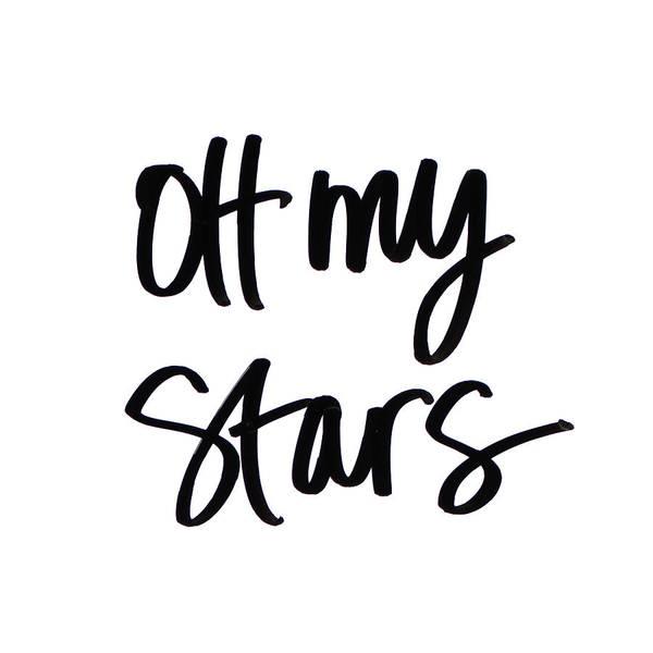 Wall Art - Digital Art - Oh My Stars by Sd Graphics Studio