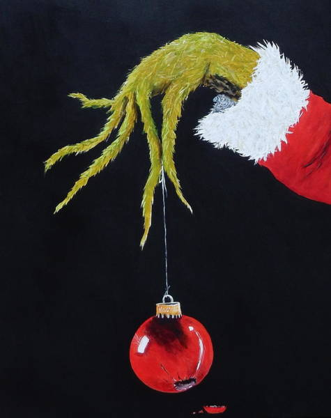 Ornaments Painting - Oh Oh by Betty-Anne McDonald