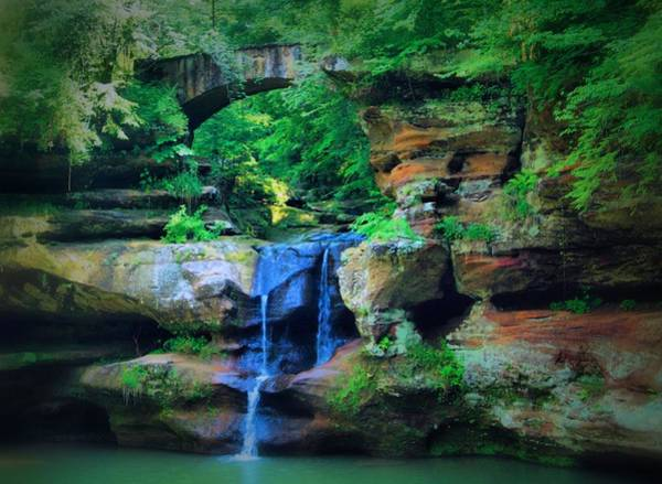 Hocking Hills Photograph - Ohio Beauty by Dan Sproul