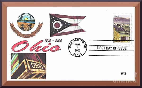 Ohio Bicentennial Cover #2 Art Print
