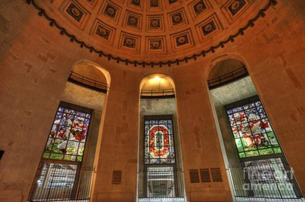 Ohio State University Photograph - Ohio Stadium by David Bearden