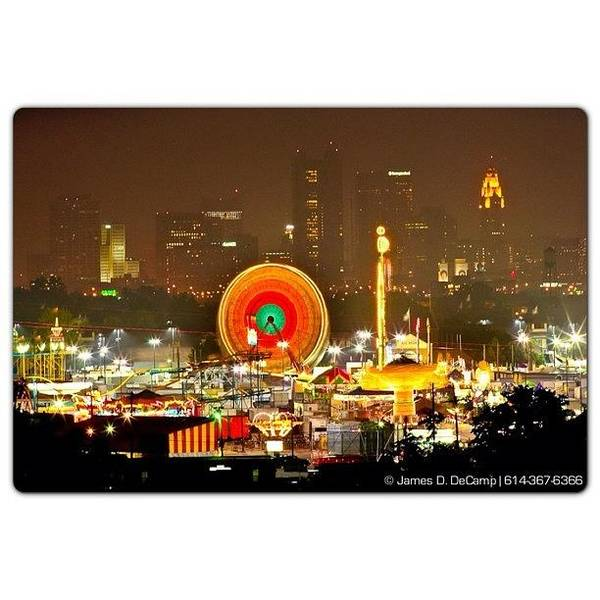 Ohio State Wall Art - Photograph - Ohio State Fair Time by James Decamp