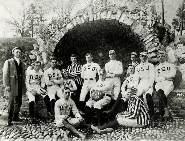 Football Photograph - Ohio State Football Circa 1890 by Jon Neidert