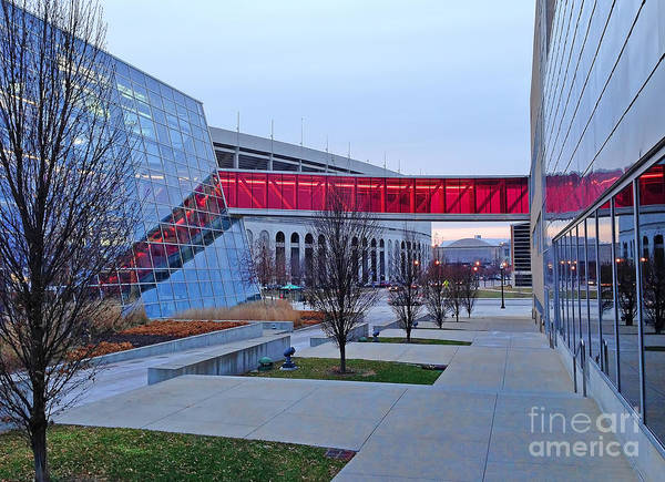 Ohio State University Photograph - Ohio State Recreation Center by Jack Schultz