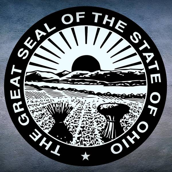 Digital Art - Ohio State Seal by Movie Poster Prints
