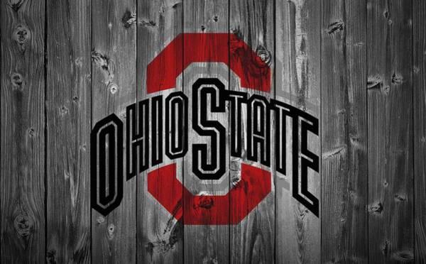 Man Cave Wall Art - Digital Art - Ohio State University by Dan Sproul