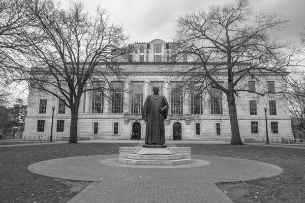 Ohio State University Photograph - Ohio State University Library  by John McGraw