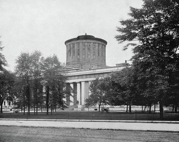 Greek Revival Architecture Photograph - Ohio Statehouse, C1890 by Granger