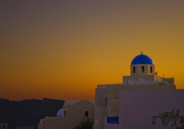 Photograph - Oia Sunset by Meirion Matthias