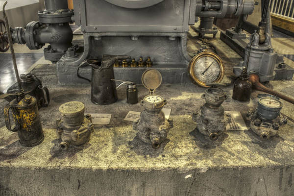 Photograph - Oil Cans Valves And Gauges - Oh My by Jason Politte