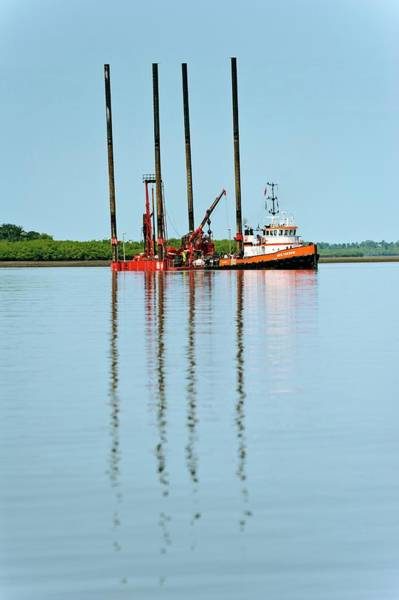 Drilling Photograph - Oil Industry by Matthew Oldfield/science Photo Library