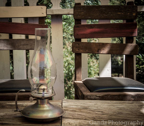 Digital Art - Oil Lamp 2 by Gandz Photography