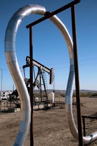Oil Pump Photograph - Oil Production by Jim West