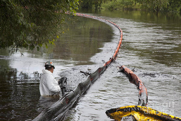 Photograph - Oil Spill by Jim West
