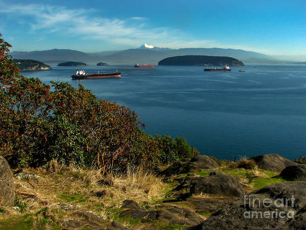 Wall Art - Photograph - Oil Tankers Waiting by Robert Bales
