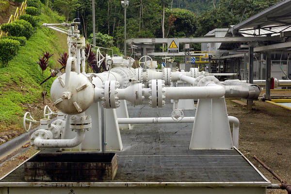Fossil Fuel Photograph - Oil Well In The Rainforest by Dr Morley Read
