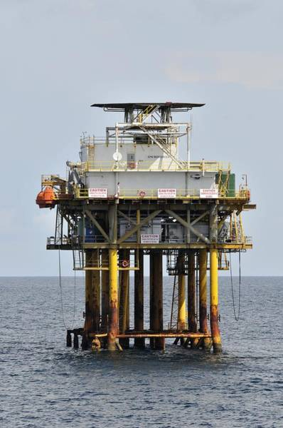 Photograph - Oil Well Platform by Bradford Martin