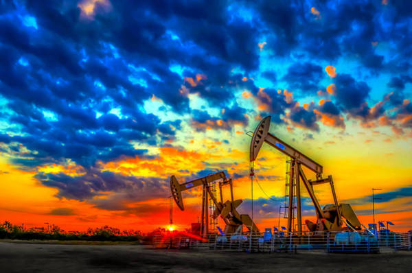 Drill Photograph - Oilfield Color Burst by Tim Singley